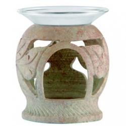 Aromalampe Buddha-Blumen