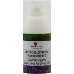 Lavendel-Zypresse Fussbalsam BIO 30ml