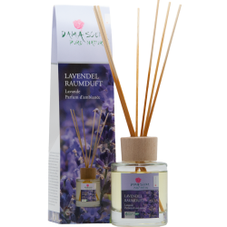 Lavendel mit Holzstäbchen - Raumduft