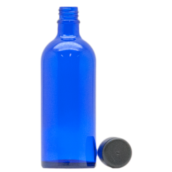 Blauglas mit Verschluss 100ml